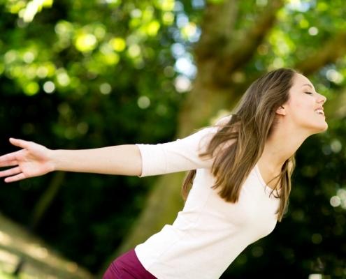 woman enjoying nature outdoors m 1 2 845x684 1